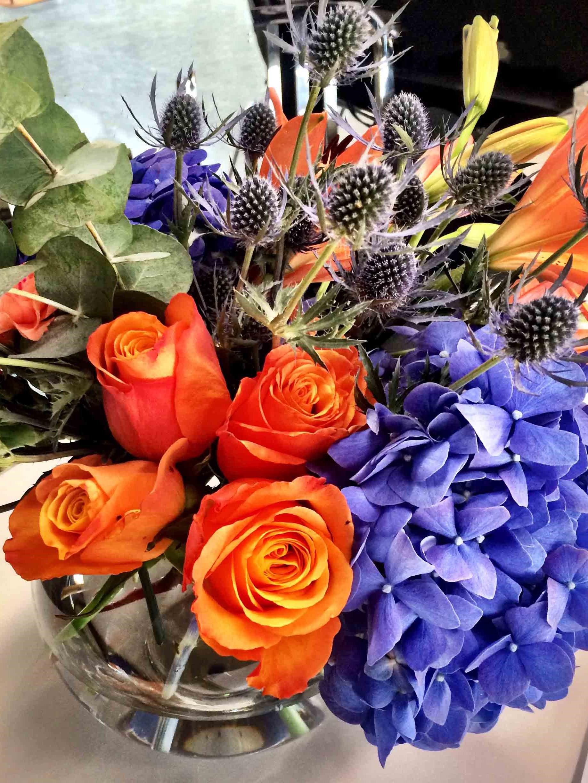restaurant flower arrangement ibiza