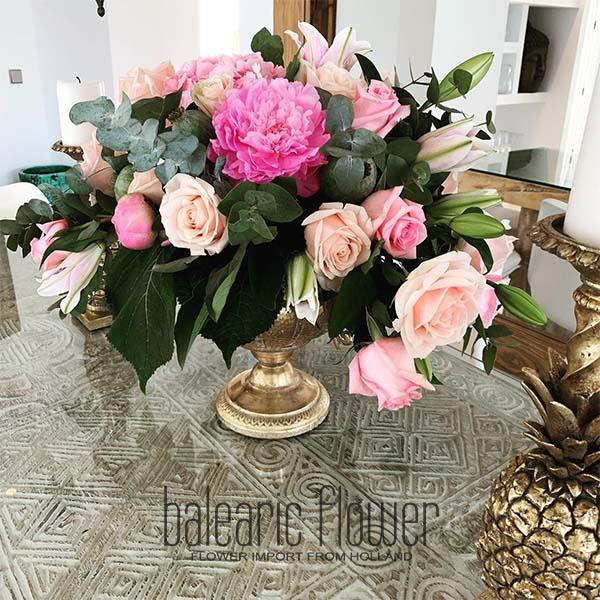 bouquet-roses-private-villa-ibiza