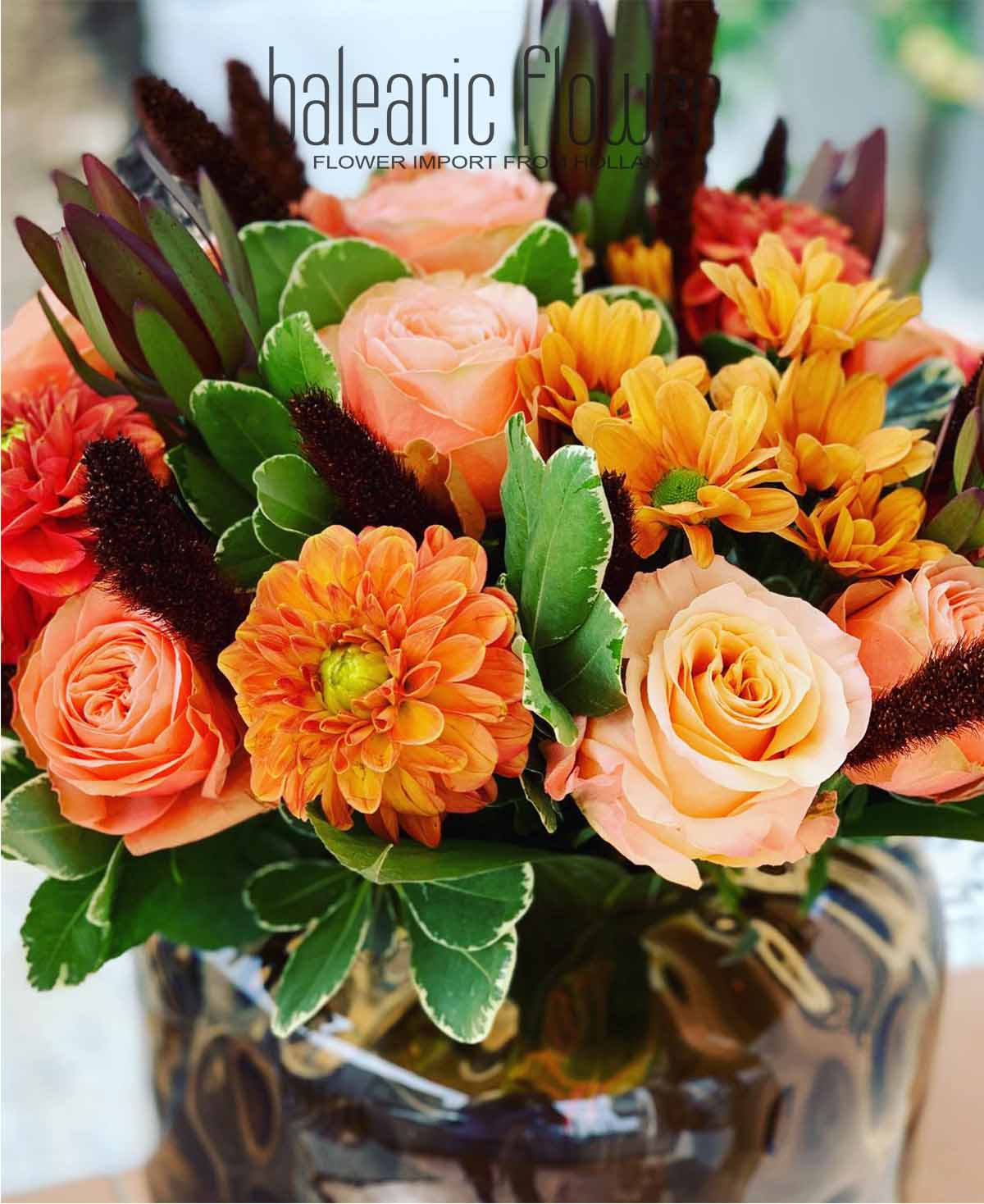 colorful-flower-arrangement-ibiza-private-villa