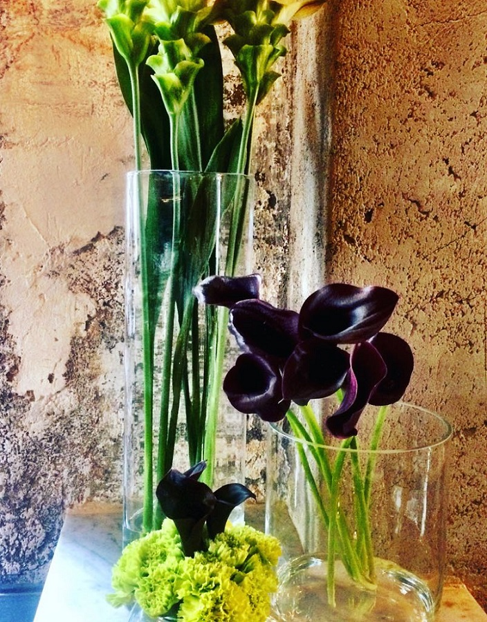 ibiza hotel flowers and fresh bouquets vases