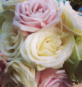 ibiza wedding flowers bouquet roses