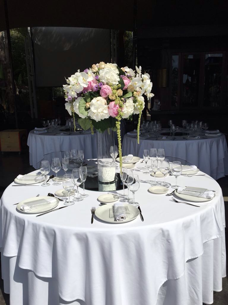 ibiza wedding flowers
