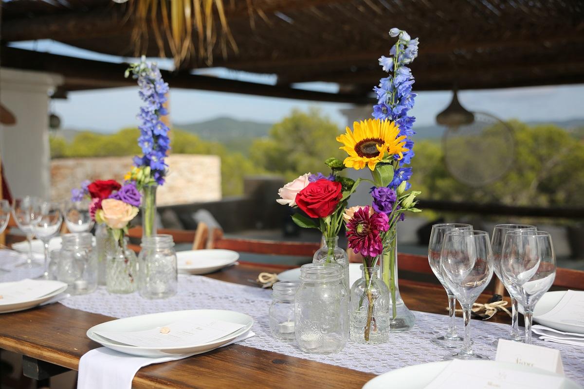 ibiza wedding flowers bouquet at sant miquel 2