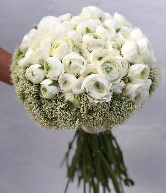 ibiza wedding flowers white bouquet