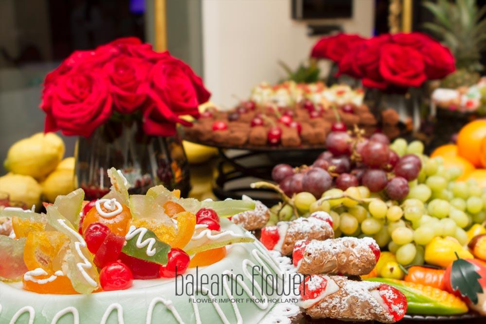 flowers-buffet-event