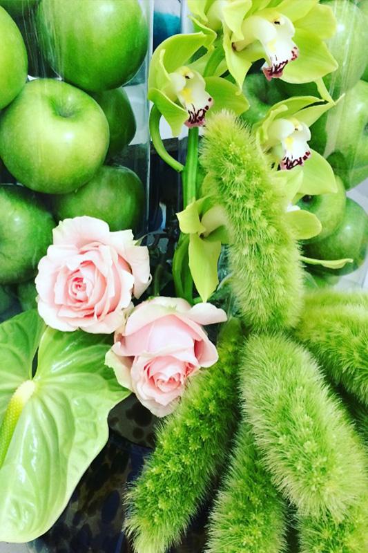 fresh dutch flowers at ibiza events